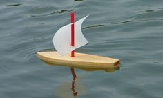 Do it yourself wooded sailboat
