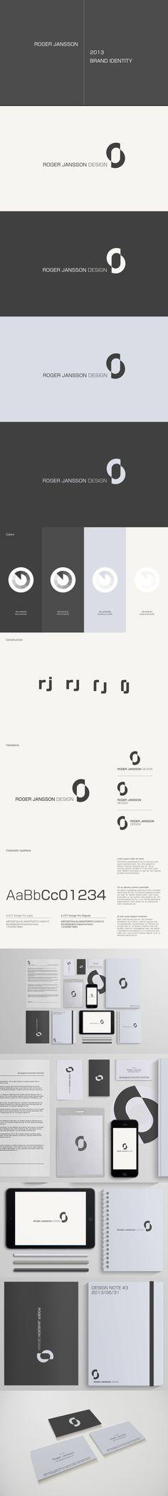 Brand identity - Roger Jansson