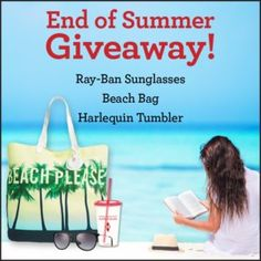 Giveaway at Reading Is My SuperPower: End of Summer Giveaway!