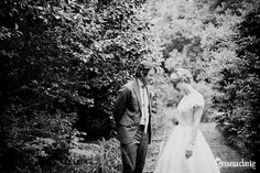 Leah and Tim's Wedding by the river with Wombats – Arthur Boyd Education Centre