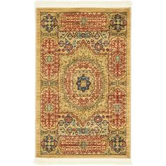 Found it at Wayfair - Palace Beige Area Rug