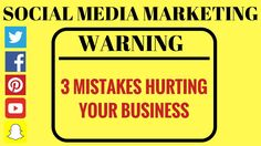 Social Media Marketing for Business - These 3 Social Media Marketing Mis... Sustainable Companies, Start Up Business, Mistakes, Social Media Marketing, It Hurts, Money, Silver