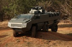 The Mbombe is a revolutionary, low profile infantry fighting vehicle - one of the world's first flat hull mine protected armoured vehicles offering high levels of mine, IED, side blast and RPG protection. - Image - Army Technology