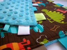 Made by Me. Shared with you.: Baby Lovey Cuddle Square: With Tutorial