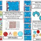 Dr. Seuss Classroom Decor.  Dr. Seuss Behavior Clip Chart, Daily 5 Posters, and much more!