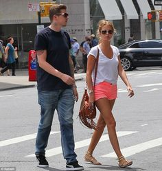 Professor Green and his fiance shopping in Soho  PUMA  suedes  sneakers   classic 298c78144