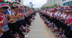 The Zuojiao Dance of the Yis-Yunnan Tourism Website