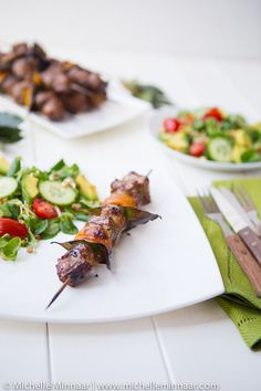 Kerrie Skaap en Appelkoos Sosaties (Lamb and Apricot) *** OMG THIS SOUNDS SO GOOD ***