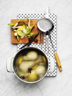 podemos cocinar peras al vino que hay muchas en la nevera @walter_leone