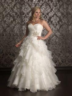 50 vestidos para noivas plus size, veja as dicas - Maringá Noivas