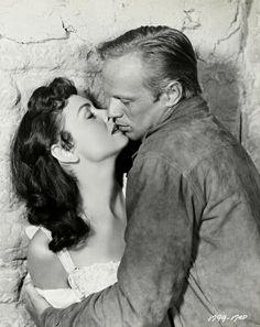 "Richard Widmark & Donna Reed star in ""Backlash"" - John Sturges (1956)"