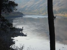 Fishermen on the Clearwater River