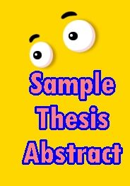 dissertation abstract example