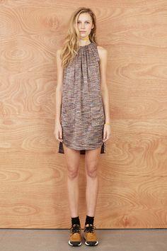 Acid Drop 'Turnover Tucks' Dress, Karen Walker