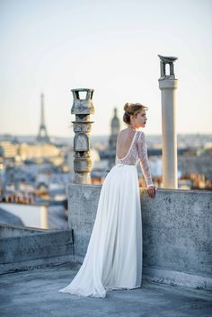 Mademoiselle de Guise | Collection 2016  Robe Louise  Photo : Ce Jour-Là  Weddingdress  Robe de mariée  Paris