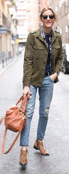 Army Jacket Outfit Idea #DressingwithBarbie