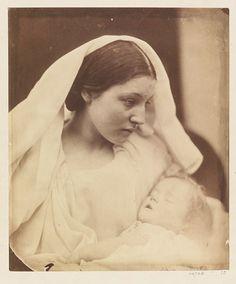 "Julia Margaret Cameron's 1864 ""La Madonna Riposata"""