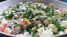 Rus Salatası Tarifi - Russian Potato Salad or Olivier Salad - Как Пригот...