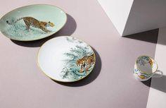 Image d'illustration : Hermes New Porcelain Vessels Collection Depicting Animal Kingdom