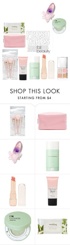 """""""fresh take on fall beauty"""" by egchee ❤ liked on Polyvore featuring beauty, Forever 21, Winky Lux, makeup and fallbeauty"""