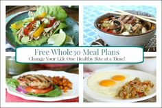 I love creating meal plans that are not only Whole30-friendly, but are family-friendly too! That's why each of my FREE Whole30 meal plans feature recipes the whole family will love – whether they're doing Whole30 or not. Yay!