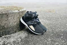 Along with the new IGNITE Limitless Reptile sneaker, PUMA has also dropped the Blaze of Glory Limitless evoKNIT which is available now.
