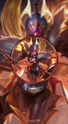 Wallpaper Phone Freya War Angel by FachriFHR