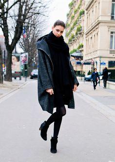 Kati Nescher// Jacket, Scarf