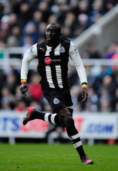 Papiss Cisse, forward, playing for the MagPIES Newcastle United FC Premier League Soccer, Barclay Premier League, Fifa, Newcastle United Fc, Happy Pi Day, Barclays Premier, St James' Park, Saint James, 4 Life