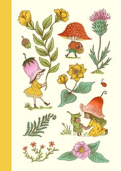 Wildflower Fairies /A5 Sketchbook / Notebook / Journal