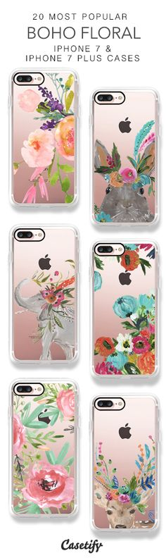 20 Most Popular Boho Floral iPhone 7 Cases & iPhone 7 Plus Cases here > https://www.casetify.com/collections/top_100_designs#/?vc=GyBacvDzRH