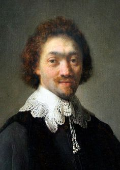 Rembrandt: Maurits Huygens (1632)