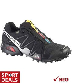 SPEEDCROSS 3 GTX SALOMON GORE-TEX ΜΑΥΡΟ