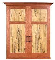 Cabinet with Spalted Wood - Creating Spalted Lumber