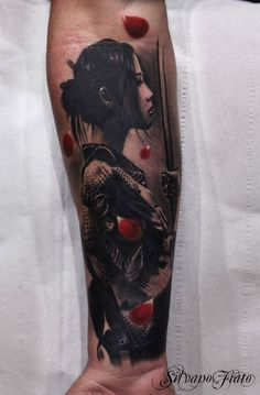 Geisha Tattoo - 50 Beautiful Geisha Tattoos <3 <3