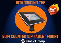 Digital Retail, Tablet Mount, Footprint, Countertops, Public Spaces, Slim, Website, Hot, Check