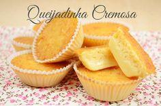 A Queijadinha Cremosa da Isamara é deliciosa e muito fácil de fazer. Você vai amar essa receita, e quem prova-la, mais ainda! Faça para o lanche, para as f
