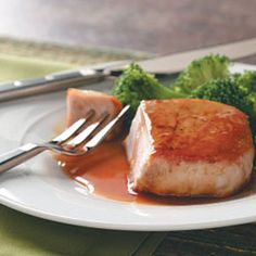Orange-Glazed Pork Chops. Timmy and I are not big fans of pork chops, but this has been one of our favorite dishes for a few years.