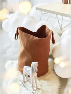 New Gifts Shop Ideas Creative Ideas Newborn Gifts, Baby Gifts, Toy Storage Bags, Pink Bedding, Linen Bag, Love To Shop, Online Gift, Etsy Shop, Pure Products