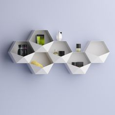 SEI wall-mounted shelves by Michela Catalano & Lucio Pacifico (Italy) Vote for it: http://ex-t.com/vote-your-favourite-project
