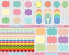 Tuesday's Guest Freebies ~ Pixel Candy Paperie ✿ Follow the Free Digital Scrapbook board for daily freebies: https://www.pinterest.com/sherylcsjohnson/free-digital-scrapbook/ ✿ Visit GrannyEnchanted.Com for thousands of digital scrapbook freebies. ✿