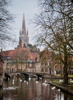 canals of Brugge, Belgium ~