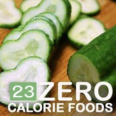 Zero Calorie foods or negative calorie foods has always been the choice of most of us to maintain good health, but it does mean that you buy every product