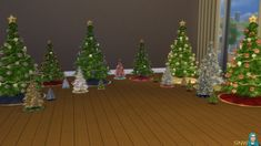 Sims 4 CC's - The Best: Christmas Paintings & Trees by SimsNetwork My Sims, Sims Cc, Christmas Decorations, Christmas Trees, Holiday Decor, Sims 4 Cc Furniture, The Sims 4 Download, Sims 4 Houses, Sims 4 Game