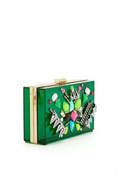 DIY Accessory Inspiration   Embellished clutch