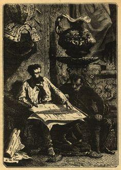Nemo Aronnax plans--Jules Verne's 20,000 Leagues Under the Sea