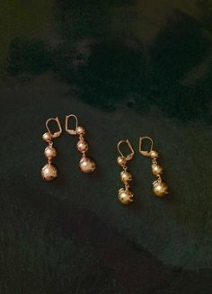 Céline Dot Straight Earrings