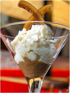 RECEITA: Risoto de coco com creme de castanhas