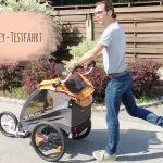 Fahren, laufen, schieben | Burley D'Lite Fahrradanhänger | Produkttest