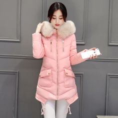 Winter Jacket Women Large Fur Collar Hooded Jacket Thick Coat For Women Outwear ParkaCoatscasacos de inverno feminino-in Down & Parkas from Women's Clothing & Accessories on Aliexpress.com | Alibaba Group